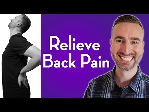 Guided Meditation For Back Pain | Relieve Stress Related Back Pain