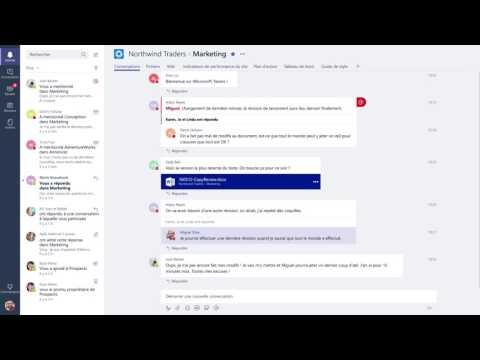 Bienvenue dans Microsoft Teams