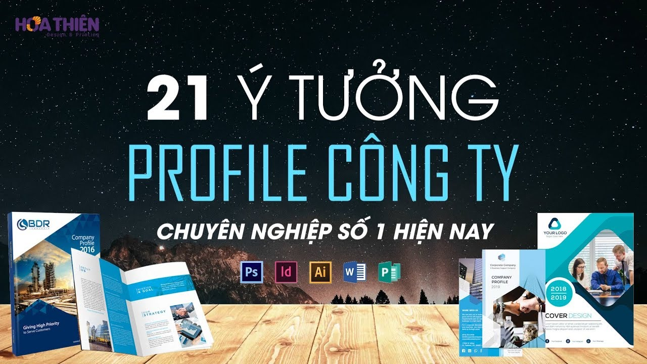 21 Mẫu Thiết Kế Profile Công Ty Đẹp & Chuyên Nghiệp ✅ 21 Best Company Profile Design