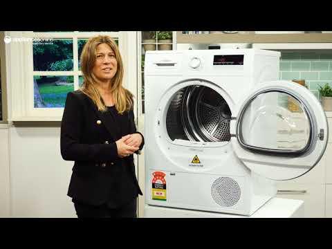 Product Review: Bosch WTH85200AU Serie 4 8kg Heat Pump Dryer