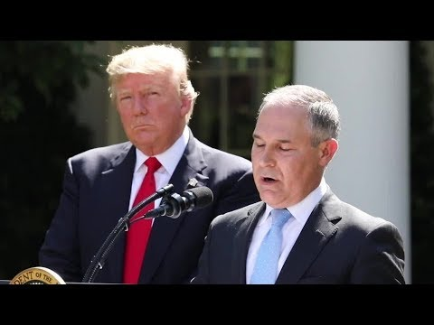 The First Year Of Trump's Environmental Agenda | Los Angeles Times