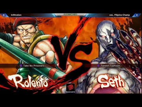 Infiltration vs Filipino Champ - Capcom Cup Ultra Street Fighter IV Exhibiton