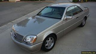 99 Mercedes Benz CL500 Coupe C…
