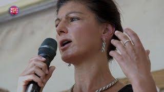 Sahra Wagenknecht: Die Air Base Ramstein muss geschlossen werden!