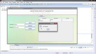Tutoriel Java GUI #13 : Remplir JTable avec données  - Darija
