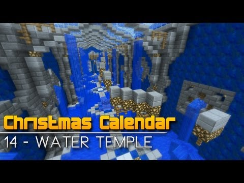 Christmas Calendar - 14 Water Temple - Minecraft Parkour Map
