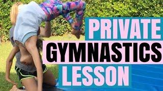 Gymnastics Private Lesson with Chloe