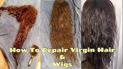How To: Repair Dry, Matted, Damaged Virgin Hair Extensions, Wigs & Weaves