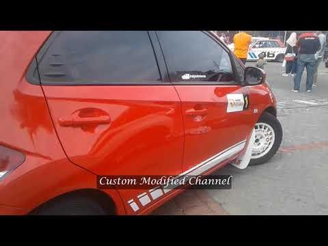 Modifikasi Honda Brio Simple Rally Car Look