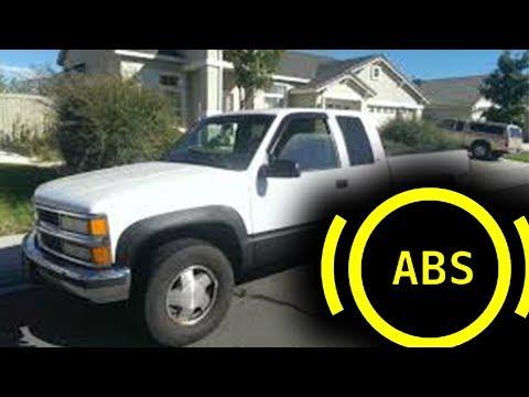 ABS Light GMC K1500 ABS Sensor Replace (HOW TO)