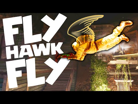 The Legend of the Flying Hawk