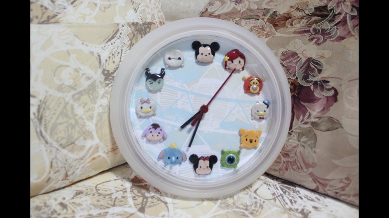diy tsum tsum clock process ikea clock makeover youtube. Black Bedroom Furniture Sets. Home Design Ideas