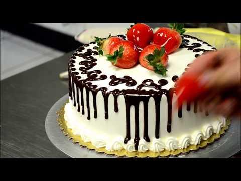 Как украсить торт на день рождения своими руками фото
