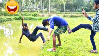 Must Watch Funny 😂 😂 Comedy Video 2019 Episode 23 || Famous Emon ||