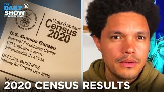 2020 Census Results: Low Population Growth & A House Seat Shuffle | The Daily Show