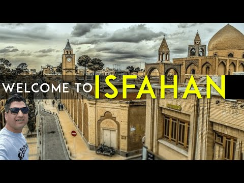 Isfahan Travel VlOG | Traveling in Iran