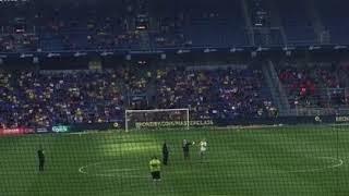 Lars Eller hyldes på Brøndby stadion i pausen