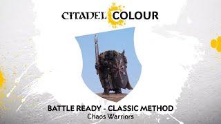 Скачать How To Paint Battle Ready Chaos Warriors Classic Method