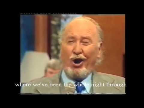 Hear My Song , Violetta by Josef Locke 1984 live , The great Irish tenor