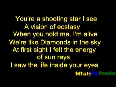Rihanna - Diamond [Lyrics on Screen]  [HQ]
