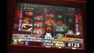 Siberian Storm Slot Machine Bonus Round 16 Free Spins