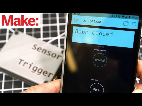 Updated Project: SmartPhone Garage Door Opener