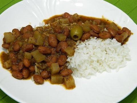 how to make quick and easy habichuelas guisadas or puerto rican rh youtube com