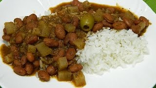 How To Make Quick And Easy Habichuelas Guisadas Or Puerto Rican Style Stewed Beans