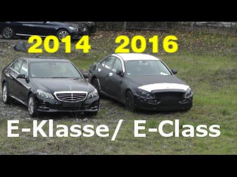 """Prawdopodobnie już w przyszłym roku Mercedes pokaże kolejną generację klasy E, oznaczoną jako W213 (sedan). W sieci można zobaczyć pierwsze zdjęcia zakamuflowanych egzemplarzy modelu. Bryła jego nadwozia mocno przypomina najnowszą klasę C - jest bardziej zwarta i dynamiczna, z większym rozstawem osi oraz krótszymi zwisami. Obecne wydanie, seria 212, zwłaszcza przed liftingiem nie zdobyło oczekiwanego uznania klientów i przegrało rynkową batalię z serią 5 oraz A6 - wini się za to między innymi zbyt tradycyjną stylizację (stąd szeroko zakrojona modernizacja). """"213"""" powstanie na nowej, modułowej platformie i pierwszy raz od lat otrzyma 6-cylindrowe jednostki rzędowe. W gamie napędów nie zabraknie też układu hybrydowego z możliwością ładowania akumulatorów z gniazdka."""