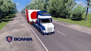 ETS2 Scania T Southern Region Timashevsk to Dombay