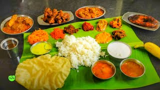 Amazing South Indian Meals | NonVeg Heaven | Indian Food | Military Meals | Street Byte Silly Monks
