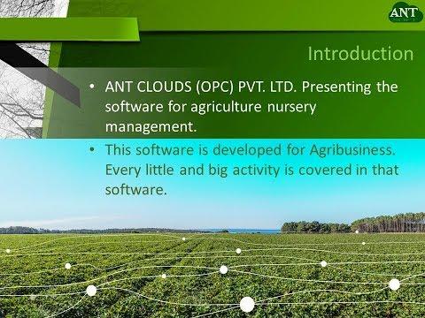 Agriculture Nursery management Software