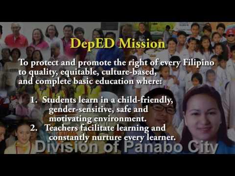 DepED Vision Mission