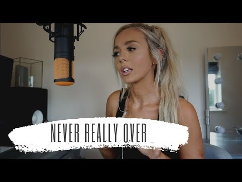 Never Really Over - Katy Perry  Cover
