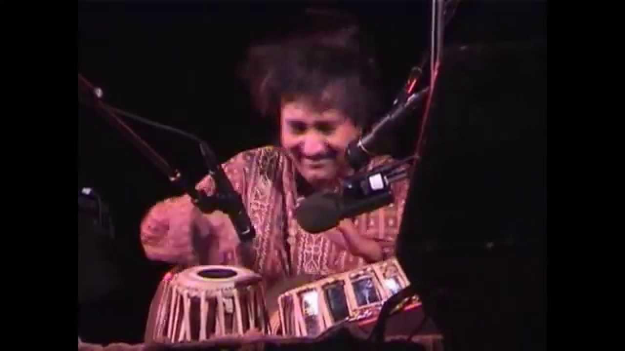 Sandip Burman Tabla & Udo Drum Solo w/His Band East Meets Jazz