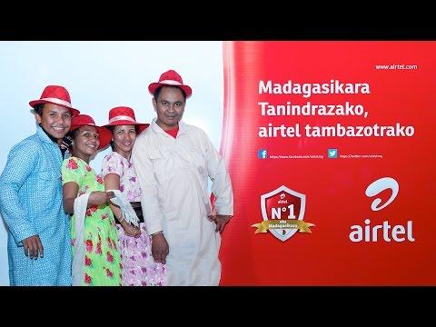 Lancement : Madagasikara Tanindrazako, Airtel tambazotrako #zenphotomada