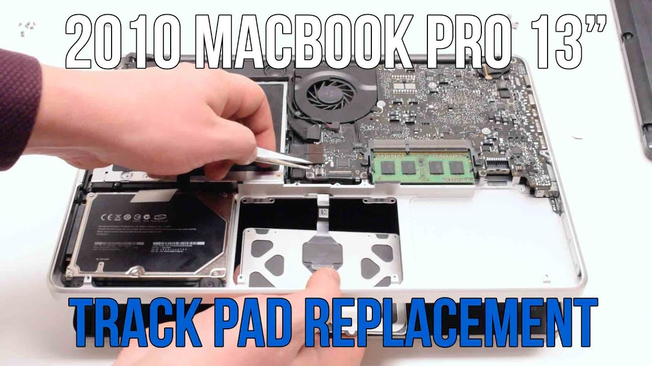 2010 Macbook Pro 13 A1278 Track Pad Replacement Youtube