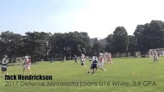 jack hendrickson 2017 defense elk river mn 2015 summer lacrosse highlight reel
