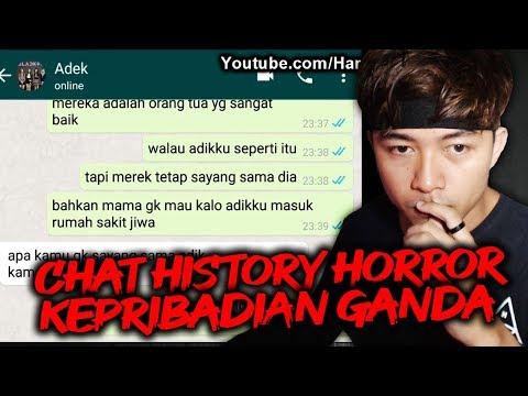 【 Chat History Horror 】Kasus Pembunuhan Dirumah, Gak Nyangka Banget!!!