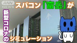 飛沫の飛散をスパコン「富岳」がシュミレーション。オフィス内では?電車の換気は?【マスクにゃんニュース】