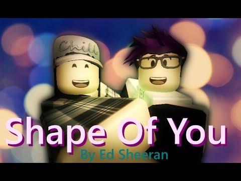 Shape Of You | Ed Sheeran | ROBLOX Music Video - YouTube
