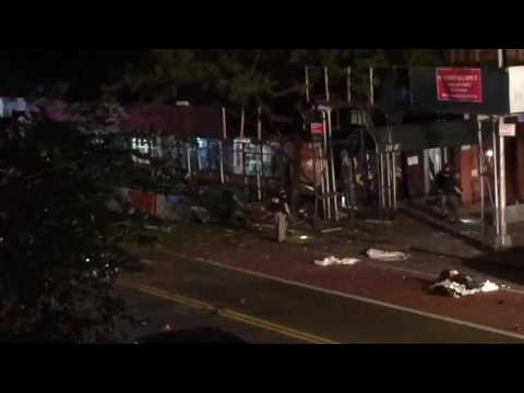 Huge explosion in Chelsea Manhattan NY 9/17/16