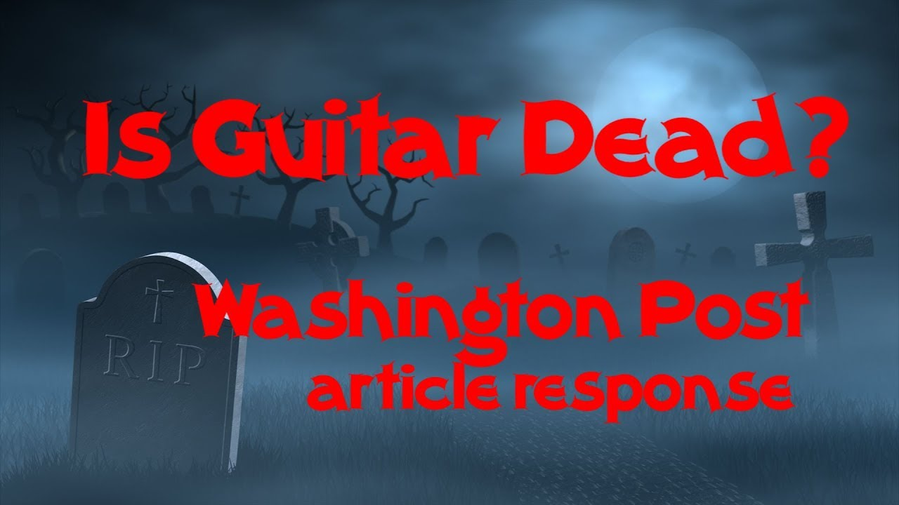 The Death of the Electric Guitar? | Music Enthusiast