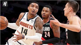 Portland Trail Blazers vs Denver Nuggets - Full Game Highlights | October 17, 2019 NBA Preseason