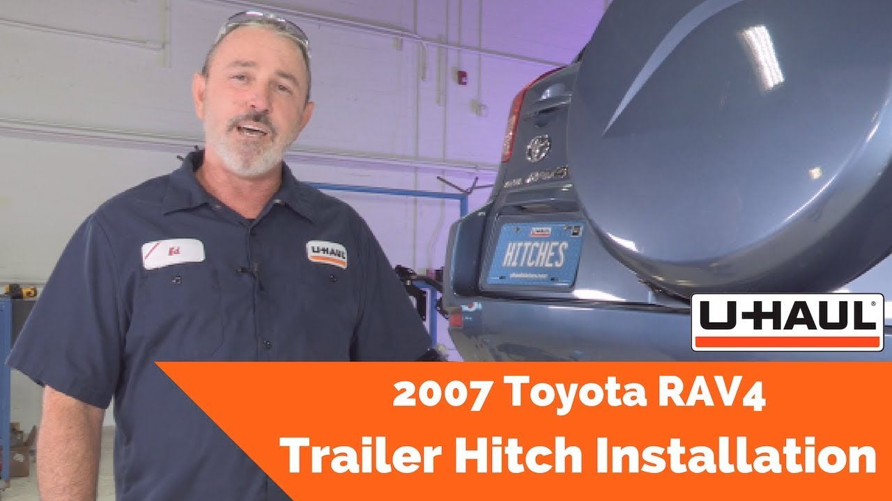 2007 Toyota Rav4 Trailer Hitch Installation