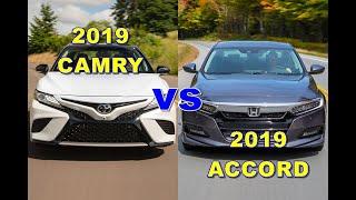 เลือกคันไหนดี ระหว่าง 2019 CAMRY vs 2019 ACCORD ไฮบริดราคาสูสี แต่เบนซินทางแอคคอร์ดได้เปรียบ