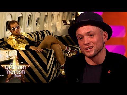 Taron Egerton Truly Transformed Into Elton John for Rocketman Film | The Graham Norton Show