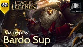 BARDO SUP | League of Legends - S7 | Gameplay (PT-BR)