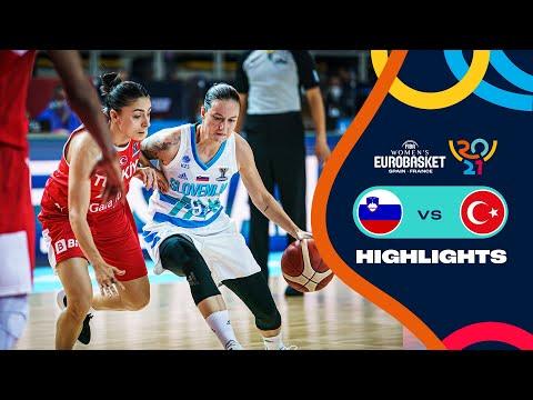Slovenia - Turkey | Highlights - FIBA Women's EuroBasket 2021