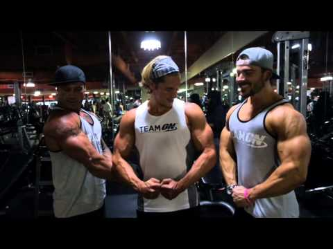 VLOG 4 - Chest & Back Workout w/ Shaun Stafford @ City Athletic Gym, Las Vegas